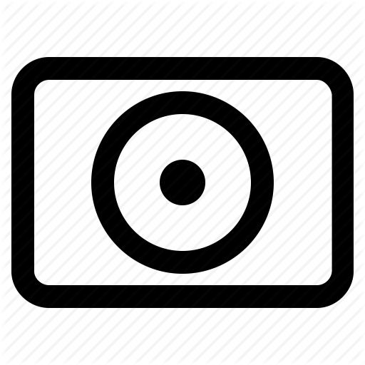Camera, Media, Movie, Multimedia, Music, Player, Record Icon