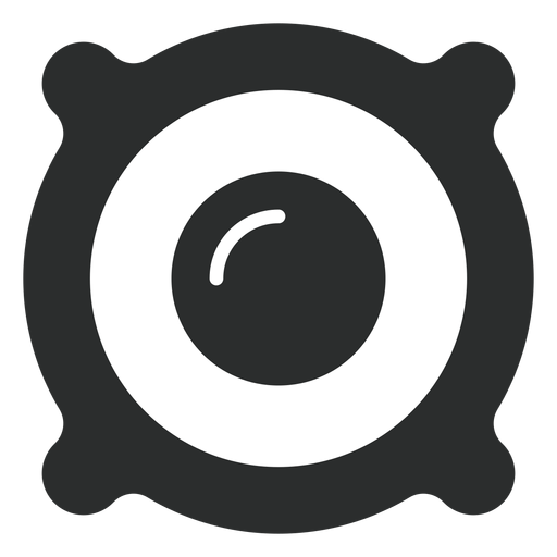 Speaker Driver Flat Icon