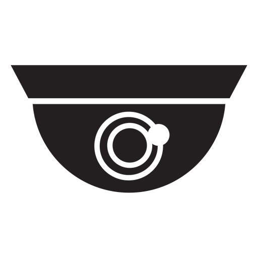 Dome Security Camera Flat Icon