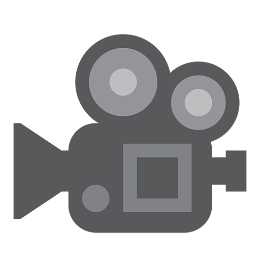 Movie Camera Emoji For Facebook, Email Sms Id