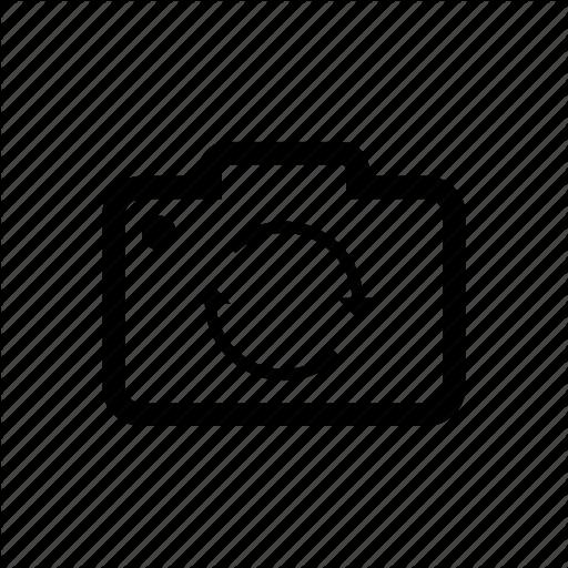 Camera Spin, Flip Camera, Rotate Camera Icon