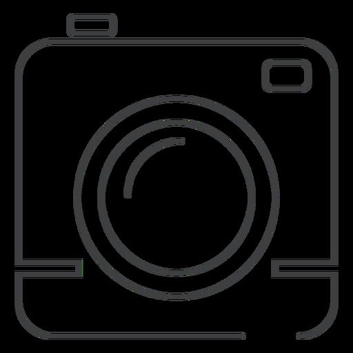 Square Camera Stroke Icon
