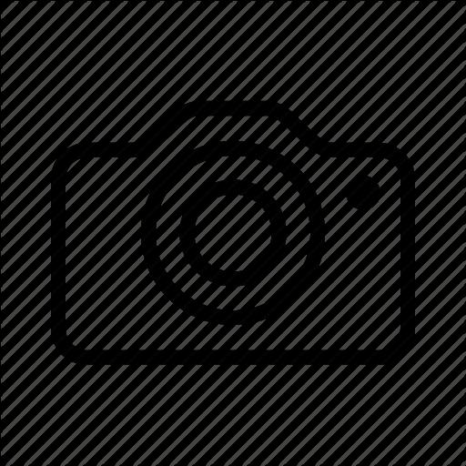 Camera, Communication, Line, Ui Icon Icon