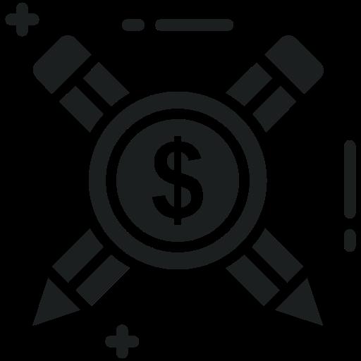 Blog, Management, Dollar, Finance, Pencil, Writing Icon Free