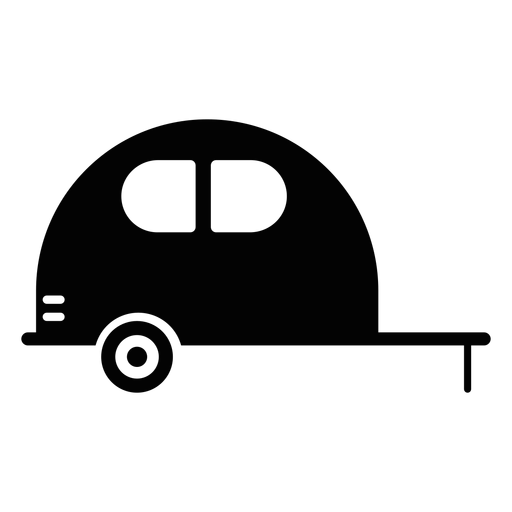 Caravan Vehicle Flat Icon