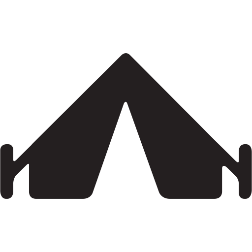 C Camping, Gear, Outdoors, Preferences, Settings, Tent Icon