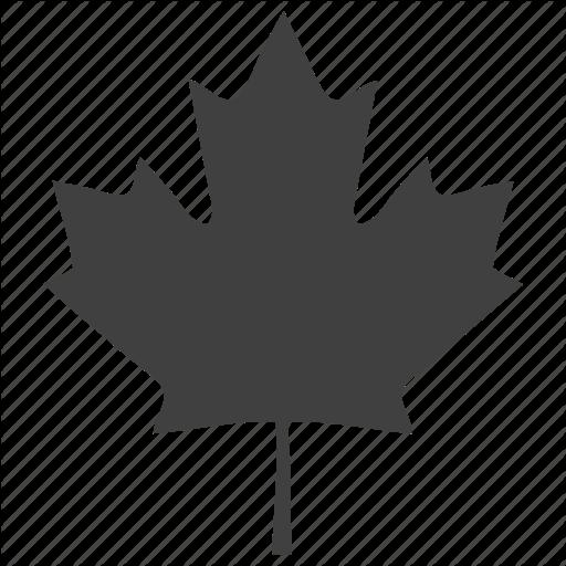 Canada, Leaf, Oak, Plants, Tree Icon