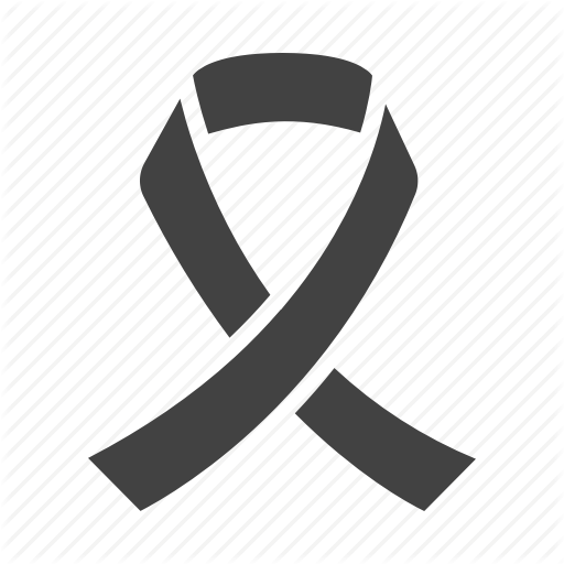Cancer, Oncology, Ribbon Icon