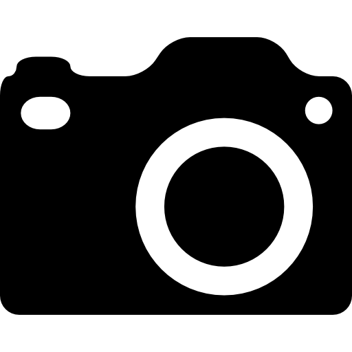Dslr Camera Silhouette Icons Free Download