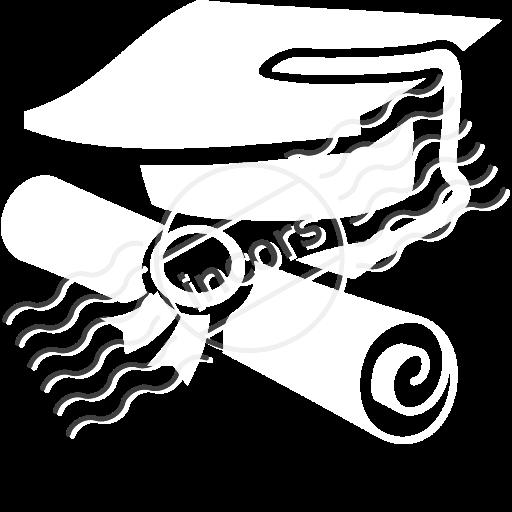 Iconexperience M Collection Graduation Hat Icon