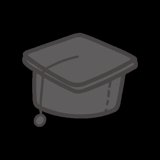 School, Object, Study, Student, Graduation, Cap Icon Free