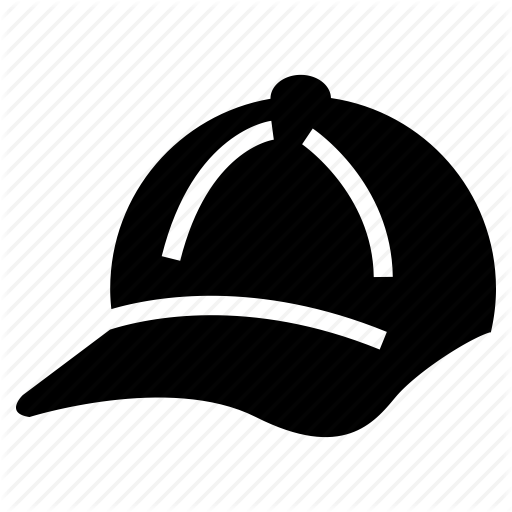 Baseball Cap, Cap, Cricket Cap, Sports Cap Icon