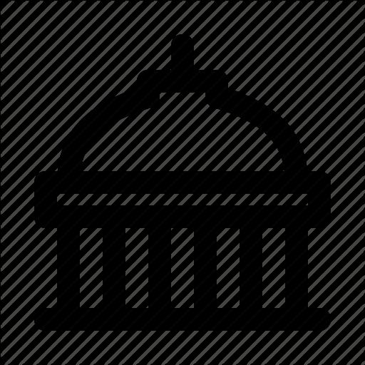 America, American, Building, Capitol, States, United, Usa Icon