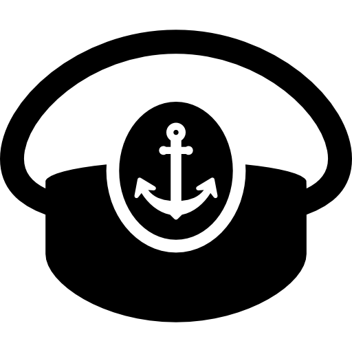 Boat Captain Hat Icons Free Download