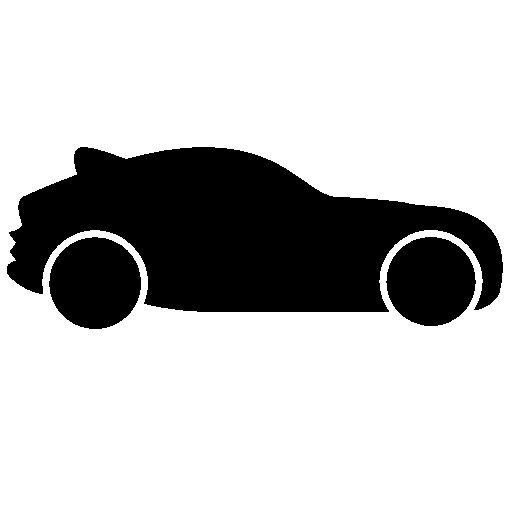 Car Icon Side View