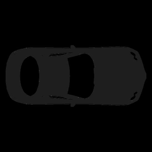 Mercedes Car Top View Silhouette