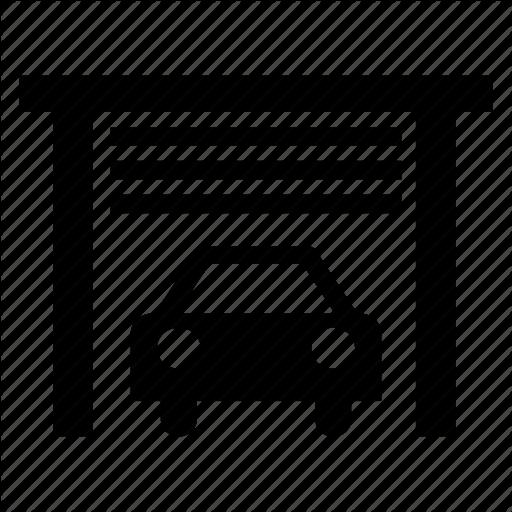 Auto Service, Car, Car Shed, Garage, Service, Vehicle Icon