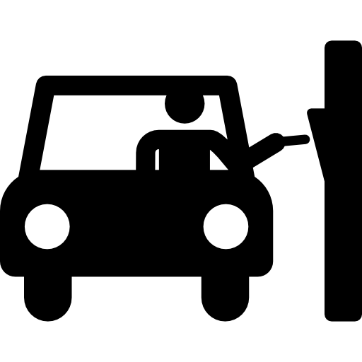 Parking, Car, Humanpictos, People Icon