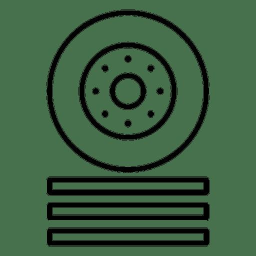 Wheel Car Racing Icon