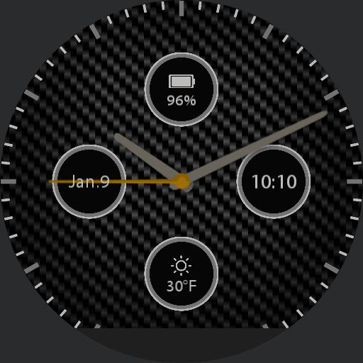 Carbon Fiber For Huawei Watch