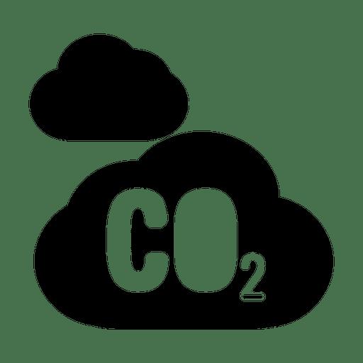 Carbon Dioxide Cloud Icon