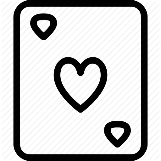 Card, Game, Heart Icon