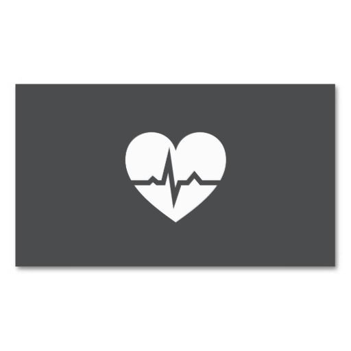 Heart And Heartbeat Logo Vector Icon Isolated Modern Heart Symbol