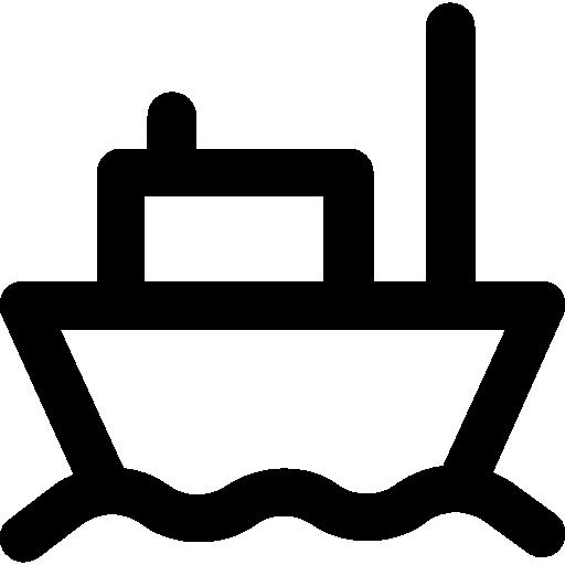 Cargo Ship Icon Logistic Delivery Icon Collection Vectors Market
