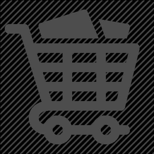Buy, Buying, Cart, Full, Groceries, Shopping, Shopping Cart Icon