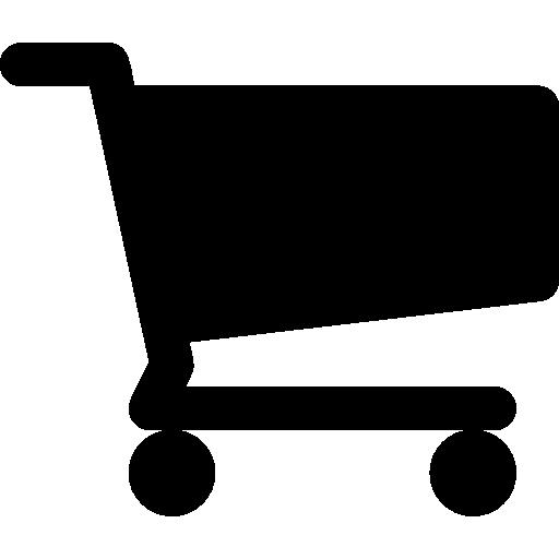 Shopping Cart Black Shape