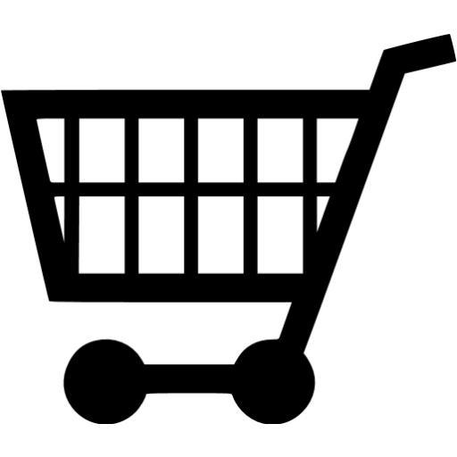 Black Cart Icon