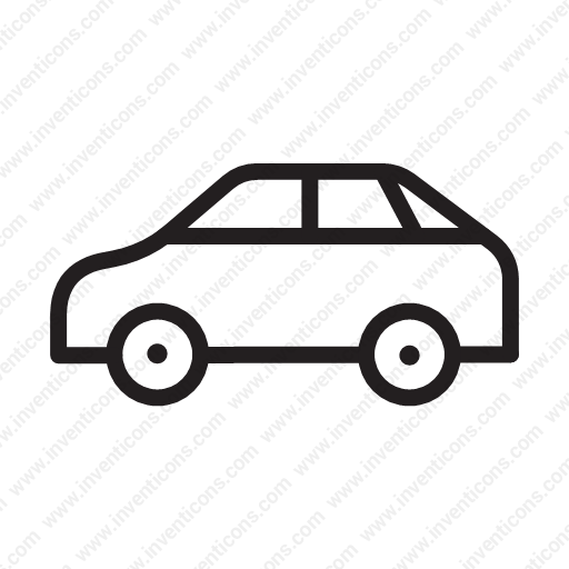 Download Luxury Vehicle,hatchback,car,cars,car Icon Inventicons