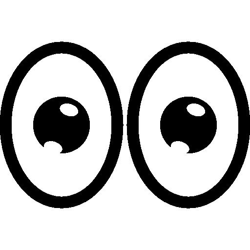 Cartoon Eyes Icon Eyecons Freepik