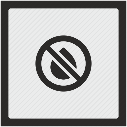 Cartridge, Empty, Function, Ink, Printer, Square, Stop Icon