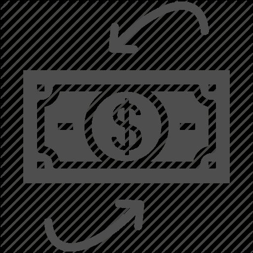 Cash, Cash Flow, Dollars, Money Icon