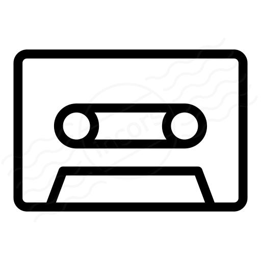 Iconexperience I Collection Audio Cassette Icon