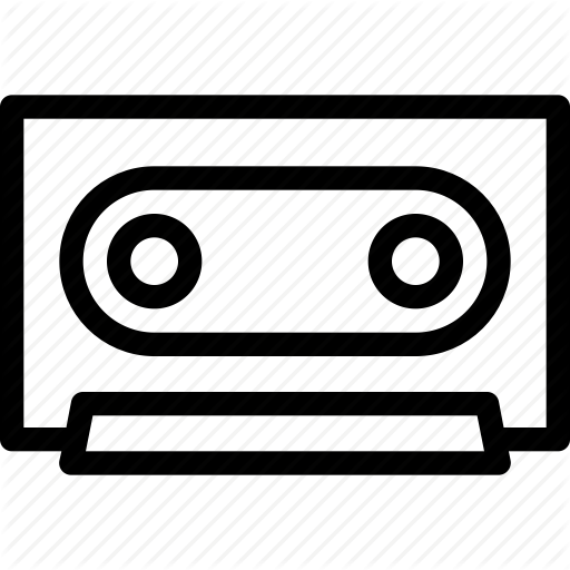 Audio, Melody, Music, Musical, Sound, Tape Cassette Icon