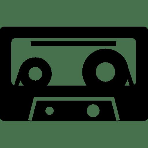 Audio Cassette Icon Transparent Png