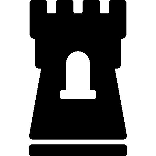 Castle Flat Icon