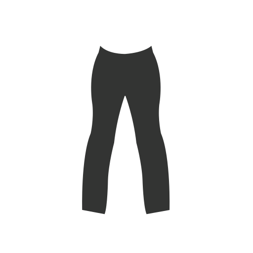 Woman's, Pant Icon Free Of Clothing Icons Black