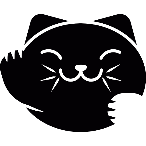 Japan Cat Face Icons Free Download