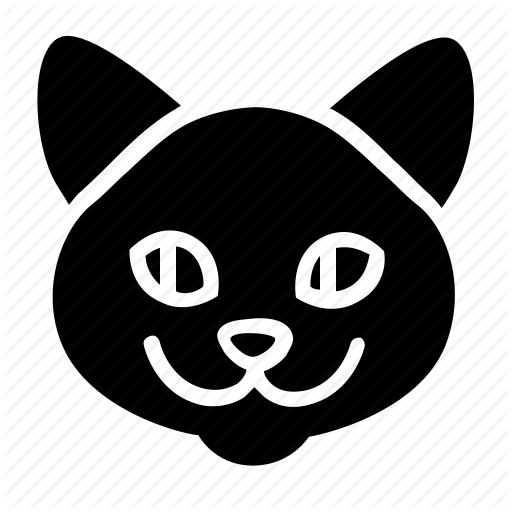Adult, Animal, Cat, Head, Pet Icon