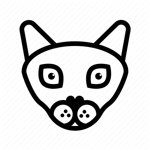 Animal, Cat, Cat Face, Cat Head, Cat Outline, Nature, Pet Icon