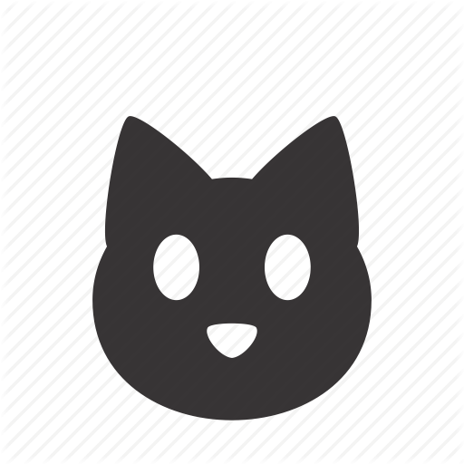 Animal, Cat, Domestic, Face, Head, Kitten, Pet Icon