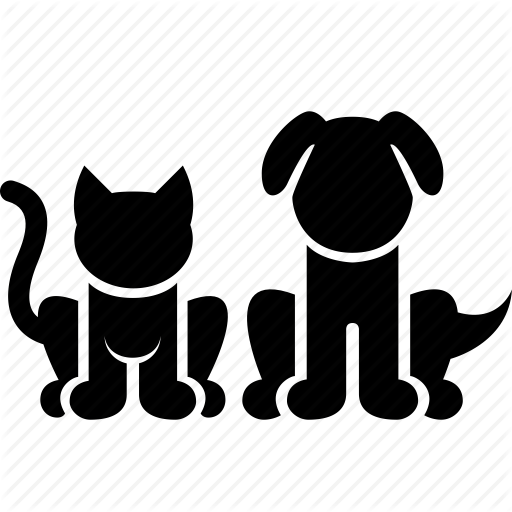 Animals, Cat, Dog, Domestic, Kitty, Pets, Puppy Icon