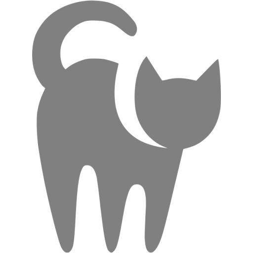Gray Cat Icon