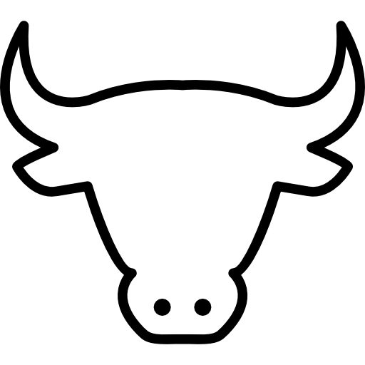 Cow Head Outline Icons Free Download
