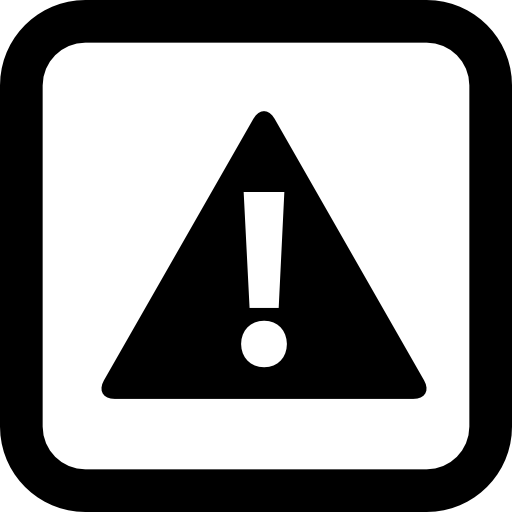 Caution Sign Of A Exclamation Symbol In A Triangle Inside
