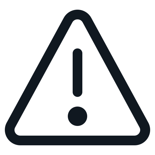 Caution, Exclamation, Mark, Sign, Triangle Icon Free Of Basic Ui