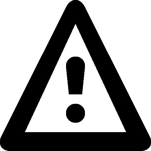 Hazard Warning Icons Free Download